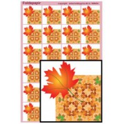 Foldepapir firkantet blad