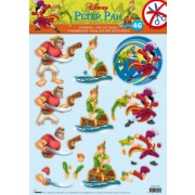 3D ark Disney Peter Pan 46 udstanset