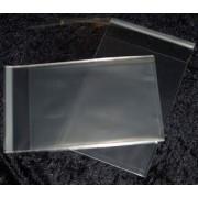 Cellofanposer C5 18 x 25 cm, klar m/ limluk