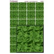Foldepapir firkantet grøn