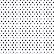 Kuvertpapir  28x28 cm  Sort prik